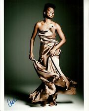 ADEPERO ODUYE hand-signed BAREFOOT FORMAL DRESS 8x10 uacc rd coa 12 YRS A SLAVE