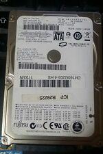 HARD DISK HDD FUJITSU SATA 160 GB 2,5 NOTEBOOK PORTATILE MHZ2160BH-G2