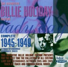 BILLIE HOLIDAY - COMPLETE 1945-49 STUDIO RECORDINGS  CD NEU