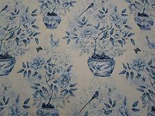 186cm Zoffany Romey's Romeys Garden Curtain Upholstery Linen Fabric Remnant
