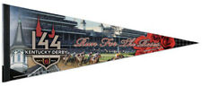 THE 144th KENTUCKY DERBY (2018) Official Premium Felt Collectors PENNANT