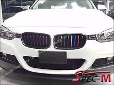 P Type /// M Tri Matte Black Front Grille Fit 2012-2015 BMW F30 320i 328i 335i