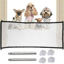 Portable Folding Safety Gate Guard Mesh Fence Net for Home Pets Dog Puppy Cat