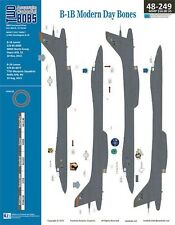 NEW 1:48 Two Bobs Decals 48249 Rockwell B-1B Lancer Modern Day Bones