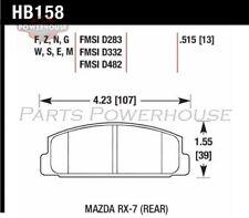 HAWK HB158F.515 HPS Performance Street Brake Pads Mazda Rx-7 1984-1991 1993-1995