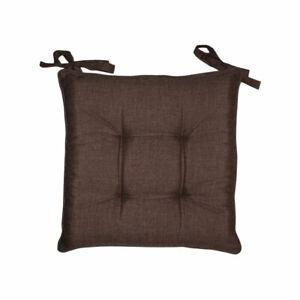 Sitzbezug 6 Kissen Stuhl Schnürsenkel Einfarbig Melangiato Baumwolle Sarani