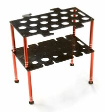 Integy C26599RED Team Edition Deluxe Machined Universal Shock & Tool Stand Kit