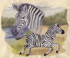 Embroidered Sweatshirt - Spirit of the Zebra J4091