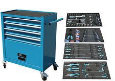 Werkstattwagen Werkzeugwagen Werkzeug Rollwagen 4 Schubladen inkl. Werkzeug