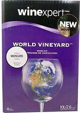 World Vineyard California Moscato Wine Kit