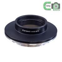 FOTOMIX M42-GFX Screw Mount Lens Adapter to Fujifilm GFX Medium Format Camera