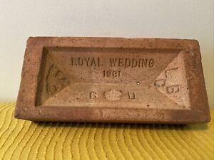 Royal wedding Brick 1981 Charles And Diana
