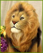 Unique, one of a kind lion sculpture, African lion, realistic lion, handwork