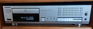CD-Player Sony, CDP 597 silber mit Fernbedienung und Bedienungsanleitung