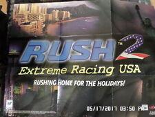 Rush 2 Extreme Racing USA (Nintendo 64) Poster Only... NO GAME