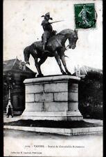 VANNES (56) MONUMENT STATUE EQUESTRE du CONNETABLE RICHEMONT en 1908