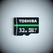 Toshiba 32GB microSD SDHC UHS-1 class 10 Karte 80MB/S microSD Toshiba M202 *OVP*