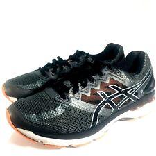 Asics Gel GT-2000 4 h Mens Sz 8.5 Gray Black Orange Sneaker  Shoes - Very good