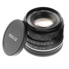 Meike 50mm F2 Large Aperture MF Manual Focus Fixed Lens for Nikon 1 J5 J1 V3 V2