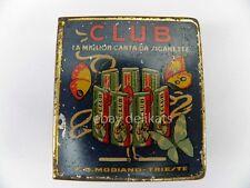 CLUB SIGARETTE Modiano Trieste cartine cigarettes papier fiammiferi matches