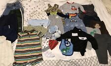 Baby Boys Newborn To 6 Months Clothing Lot Of 26