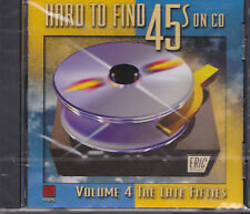 Rare Sealed CD Hard To Find 45s On CD Volume 4 Late 1950s Eric #11505 OOP New