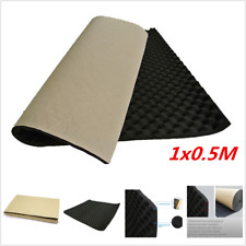 20mm Auto Car Firewall Fender Engine Heat Sound Deadener Underfelt Mat 1Mx0.5M