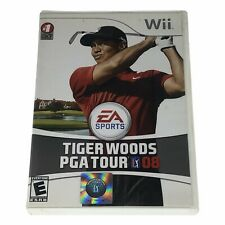 Tiger Woods PGA Tour 08 (Nintendo Wii, 2007) Complete w/Manual CIB