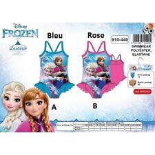 5 ans BLEU * Maillot de bain La Reine des Neiges Frozen Disney * 1 pièce * NEUF