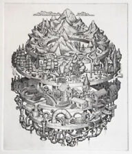 Phlegm Tributary Copper Plate Etched Art Print Signed & Numbered Ed 200
