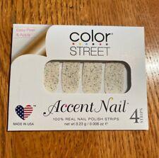 Retired Very RARE Color Street Nail Strips Glitter Overlay Prism Break 2 EA
