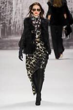 Milly Runway Celebrity Silk Jacquard Disco Dress 10 M NEW