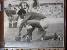 "Années 1980 France-Serge Blanco [10""x 8"" Original Rugby Union Brillant Press Pri"