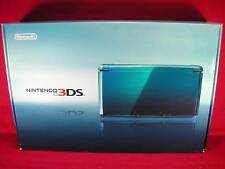 NEW Nintendo 3DS 3D Game Console System Aqua Blue JAPAN Import Sealed