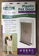 PetSafe Plastic Large Dog Pet Door Premium Dogs 1-100 Lbs. 101/8x161/4 Opening.