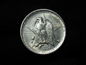 1934 Texas Commemorative Half Dollar NICE AU/BU
