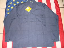 Bdu Coat Blue Small Military Tactical Hot Weather Ripstop