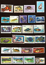 TOUS PAYS   Les poissons de mer,d'eau douce,crustacés,méduses,anémones    289T1