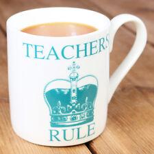 NUOVA regola Raw Xclusive insegnanti Fine Bone China tazza Regalo Personalizzato Fine del termine