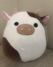 Nwt Ronnie Brown Cow 8� Squishmallow New Easter 2021 Rare