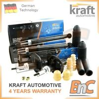 KRAFT OEM HEAVY DUTY FRONT & REAR SHOCK ABSORBERS BUMP STOPS & DUST COVERS SET
