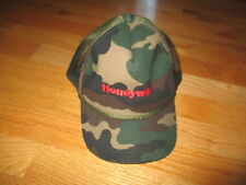 Vintage HONEYWELL Camouflage (Adjustable Snap Back) Cap