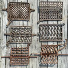 OLD VTG ANTIQUE CAST IRON TREADLE SEWING MACHINE FOOT PEDAL PART METAL LOT OF 6