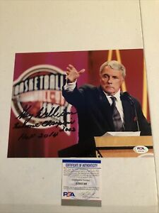MARYLAND TERAPINS- GARY WILLIAMS SIGNED AUTOGRAPH 8x10 PHOTO PICTURE PSA COA HOF