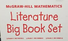 McGraw Hill  Literature Big Book Set Math in My World 6 Grade 1 books LN 200312