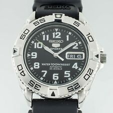 Seiko 5 Sports Automatic Stainless Steel Mens Watch 7S36A