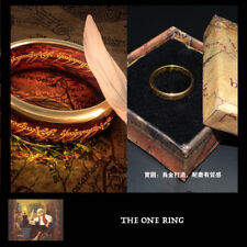 Lord of the Rings LOTR Hobbits movie props replica - THE ONE RING gollum Sauron