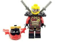 LEGO NINJAGO NYA SAMURAI X FEMALE NINJA WOMAN CYBORG WEAPONS BLACK RED SWORDS