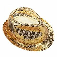 Sequin Gangster Costume Cloches