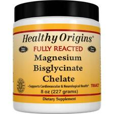 Healthy Origins Chelated Magnesium Powder 227g | Anxiety Mood Sleep Calm